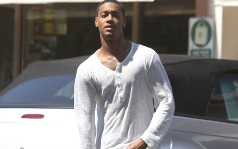 Exclusive... Lil Za Rocks Drop Crotch Pants At The Gas Station