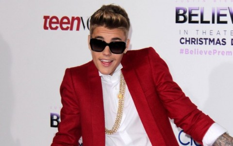 Justin Bieber Hosts His Saga Event In Los Angeles