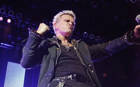 ATLANTIC CITY : Billy Idol concert