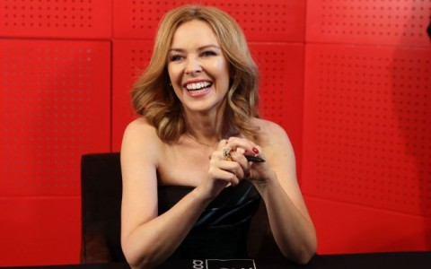 Kylie Minogue Meets Fans In Paris