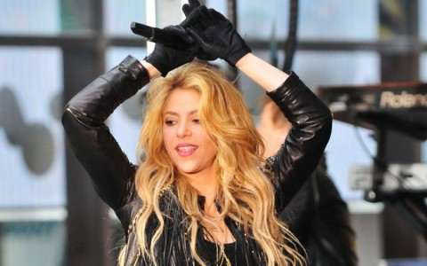 """Shakira Performs On The """"Today"""" Show"""