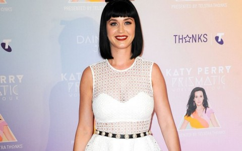 Katy Perry At Her Prismatic Tour Photo Call