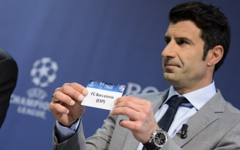 Switzerland Soccer UEFA Champions League Draw