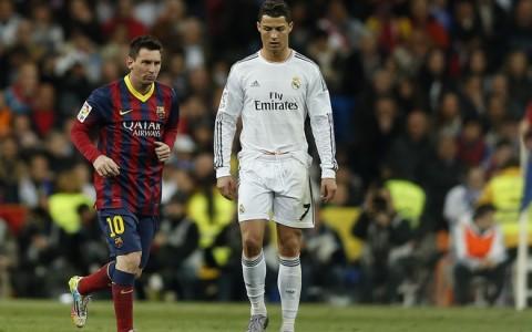 Lionel Messi, Cristiano Ronaldo,