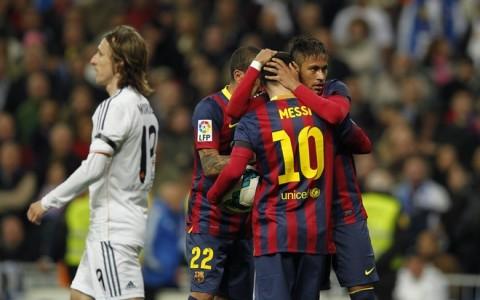 Lionel Messi, Neymar,  Daniel Alves