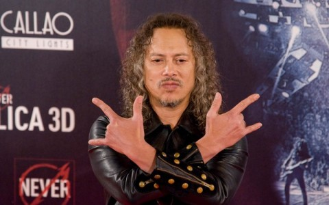 "Madrid Photocall of ""Metallica: Through The Never"""