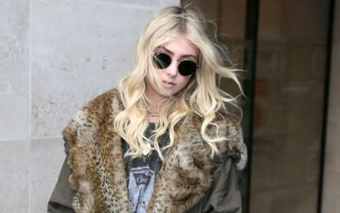 Taylor Momsen Visits BBC Radio One Studios
