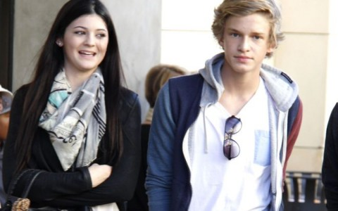 Kylie Jenner & Cody Simpson On A Date At The Grove (USA & OZ ONLY)