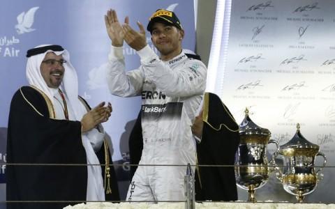 Lewis Hamilton, Salman bin Hamad Al-Khalifa