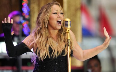 "Mariah Carey Performs On The ""Today"" Show"