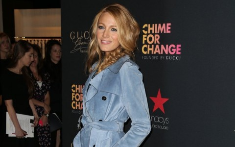 Blake Lively Attends 'Chime For Change' In NYC