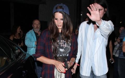 Celebrities Attend Courtney Love Concert
