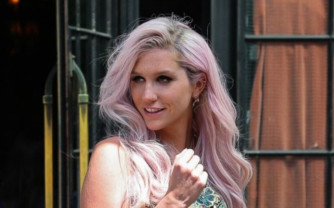 Kesha Steps Out With Her Boyfriend In NYC