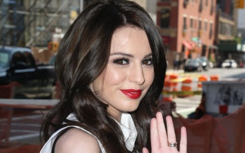 Cher Lloyd Poses In NYC