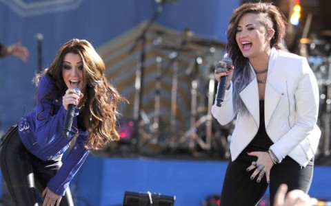 """Demi Lovato Performs On """"Good Morning America"""""""