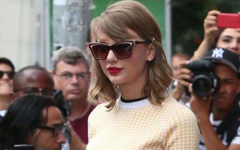 Taylor Swift Leaving The Gym In New York City