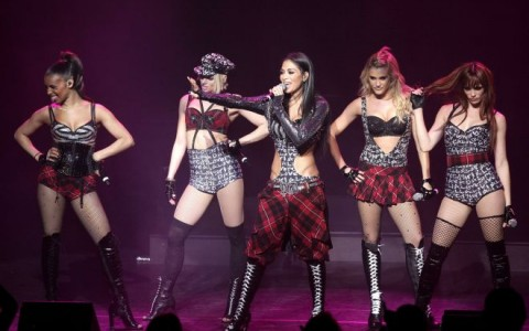 MONACO: Pussycat Dolls  performs at Grimaldi Forum