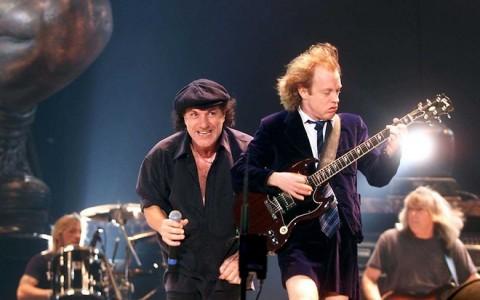 "MUNICH :AC/DC Live Concert tour ""Stiff upper lip tour"" : Brian Johnson (Singer) &"
