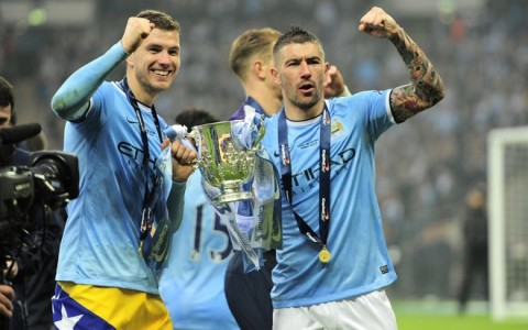 Foot Capital One Cup Final 2014 Manchester City v Sunderland