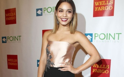 Vanessa Hudgens at The Voices on Point Annual Concert in LA