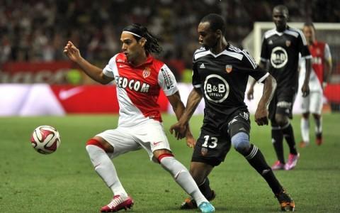 Monaco vs Lorient French League 1 football match in Monaco