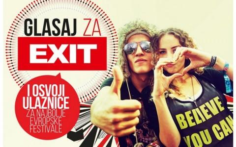 Glasaj za EXIT!