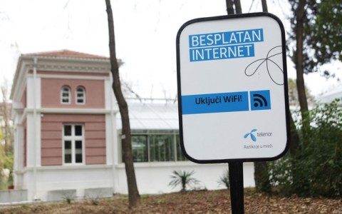 Besplatan Telenor internet i u Botanickoj basti