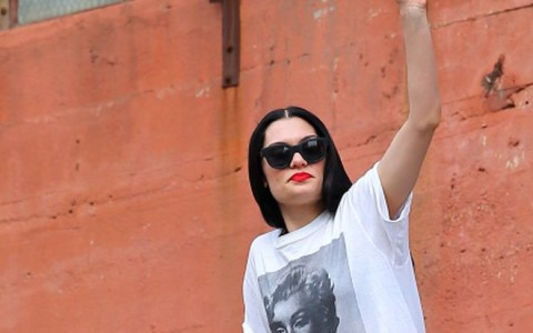 Jessie J Films A New Music Video In Los Angeles