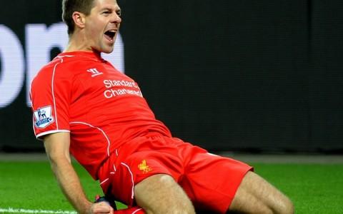 Britain Soccer Liverpool Gerrard