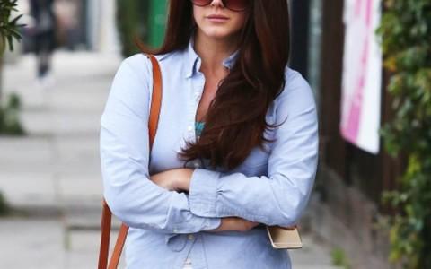 Semi-Exclusive... Lana Del Rey Leaving The Salon