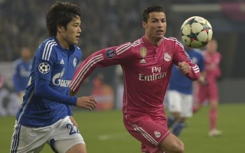 Atsuto Uchida, Cristiano Ronaldo