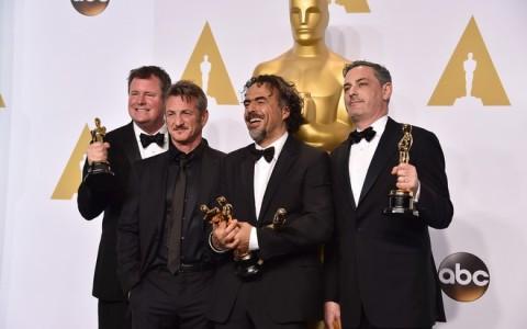 James W. Skotchdopole, Sean Penn, Alejandro Gonzalez Inarritu, John Lesher