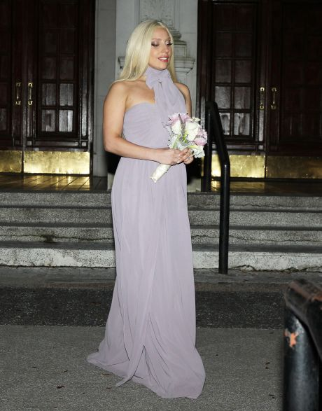 Lady Gaga Attends Her Friend's Wedding In New Orleans