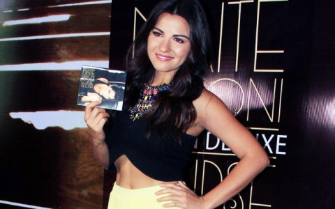 Actress and singer Maite Perroni presents her new album