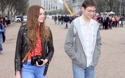 """Joseph Gordon-Levitt & Shailene Woodley Film """"Snowden"""""""