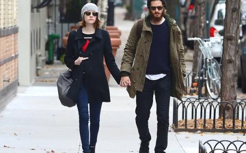 Celebrity Sightings In New York City - November 25, 2014