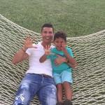 Sin Cristiana Ronalda rođendan slavio na stadionu