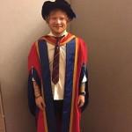 """Ed: """"Diplomirao sam, sada sam zvanično Dr Sheeran"""""""