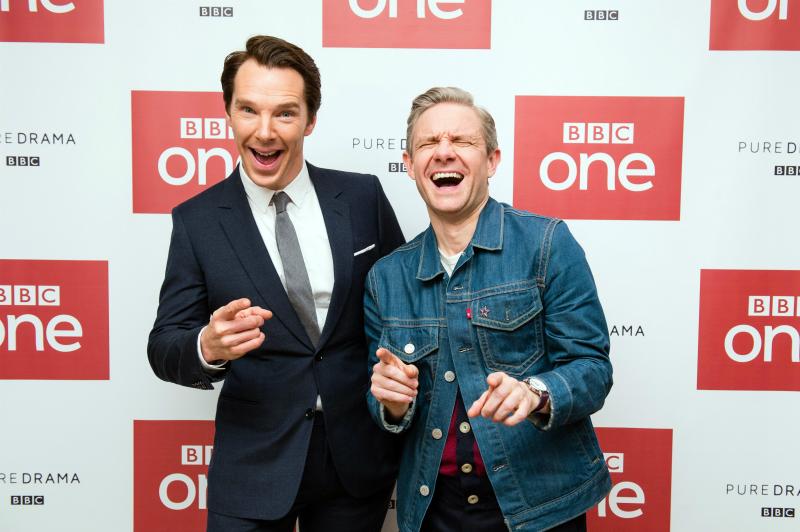 Benedict Cumberbatch, Martin Freeman
